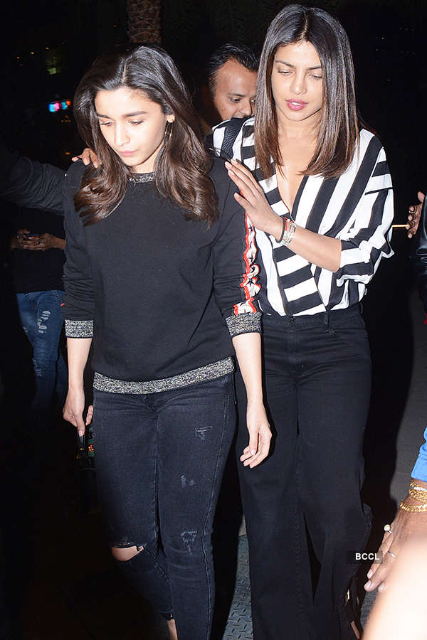 Alia and Priyanka spend time together