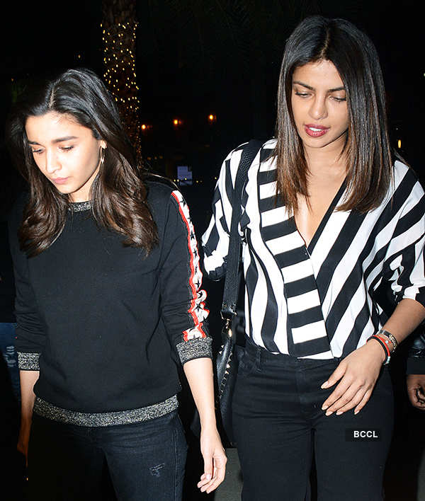 Priyanka and Alia are new besties of the B-town!