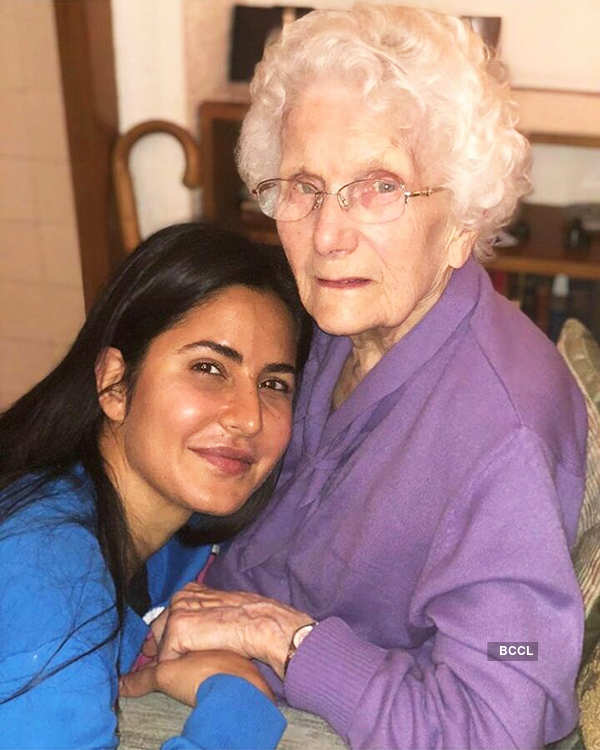 Katrina Kaif spends quality time with her grandma