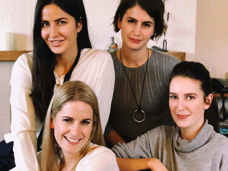 Katrina Kaif introduces her sisters to fans with an ...