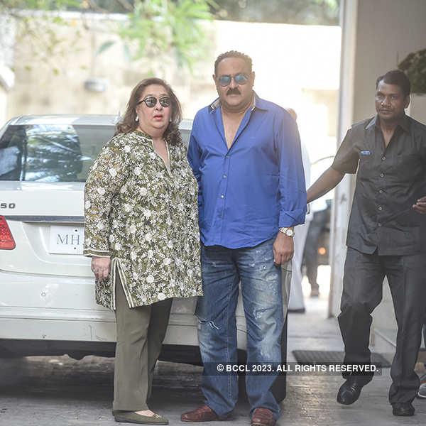Kapoor khandaan at Shashi's home for Christmas brunch
