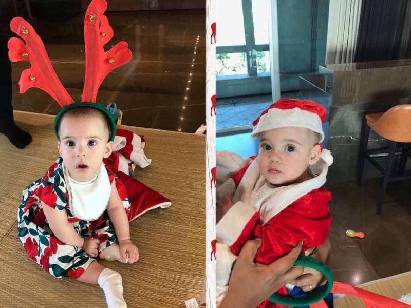 Image result for karan christmas baby