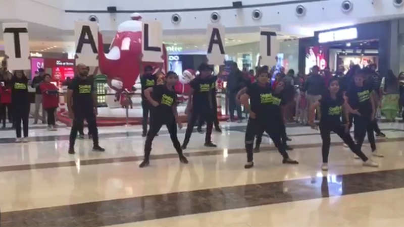 Noida: Flashmob celebrates Talat Mahmood's evergreen songs