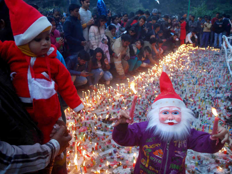 Christmas Festival In India.Christmas India Gets Into Celebratory Mood With Christmas