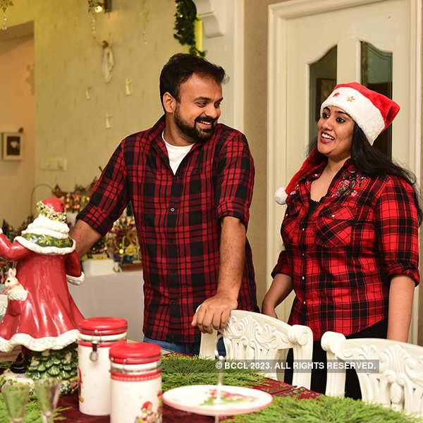 Kunchacko Boban and Priya celebrate Christmas
