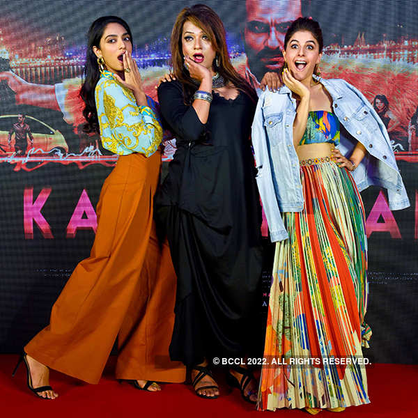 Sobhita Dhulipala, Nary Singh and Isha Talwar