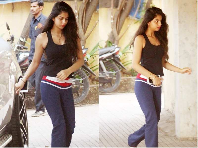 Pic: Suhana Khan is ready to kill it at the gym