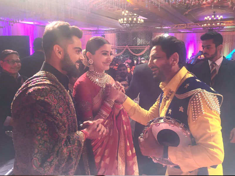Gurdas Maan's special message for Virat Kohli-Anushka Sharma