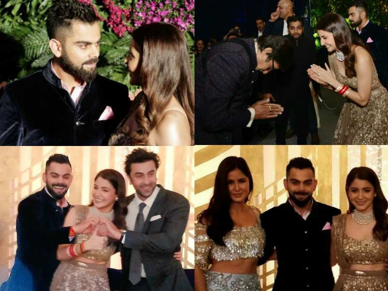 Unmissable Pictures Of Anushka Sharma And Virat Kohli From Their