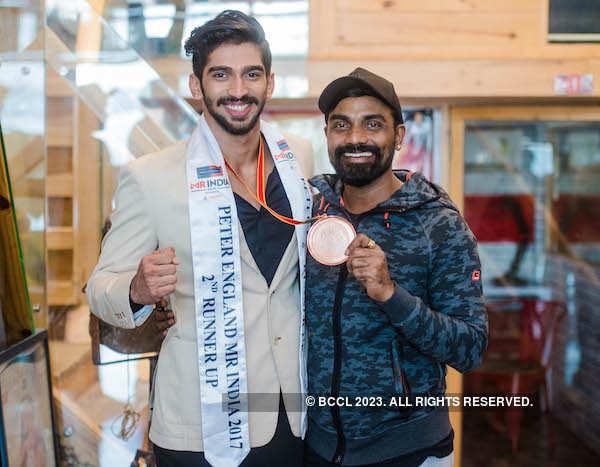 Mr. India runner up Pavan Rao's homecoming