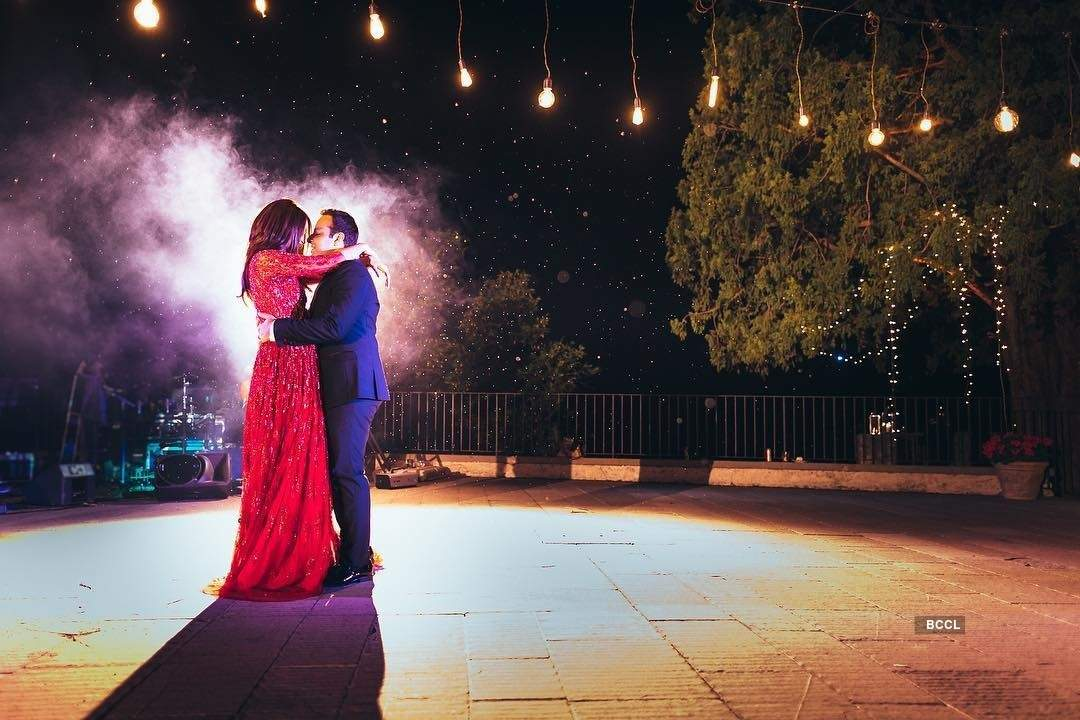 Surveen Chawla and Akshay Thakker