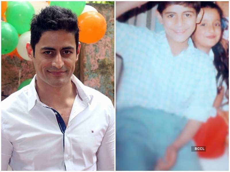 Mohit Raina Shares His Childhood Picture