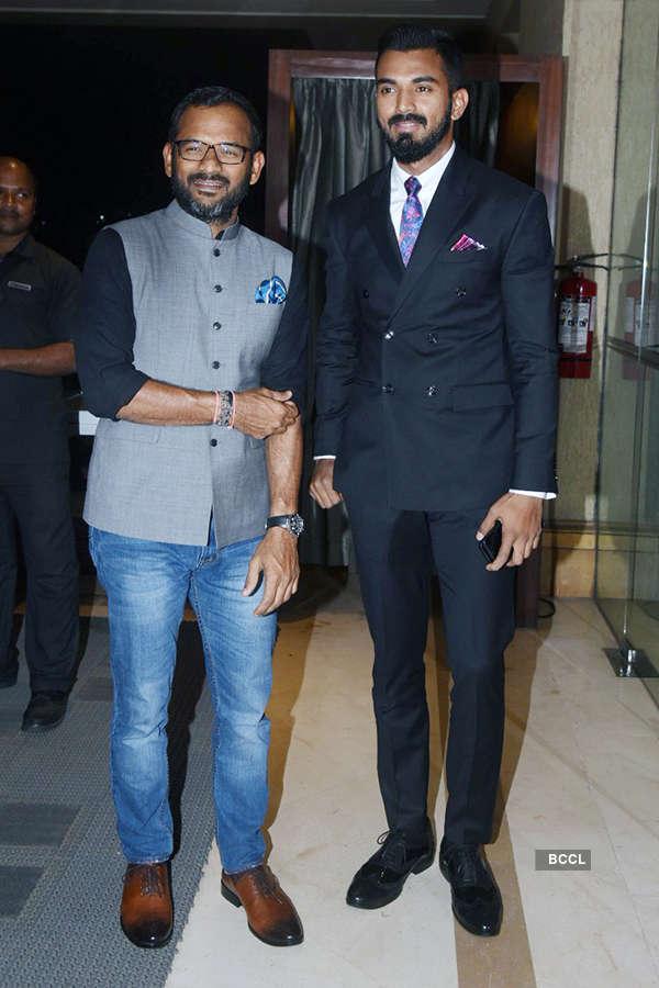 Big B, Ambanis attend Krunal Pandya's wedding reception