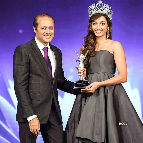 Indian Beauty Queens who were felicitated in 2017
