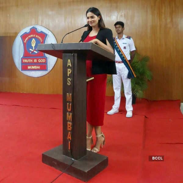 Sushrii Shreya Mishraa's inspiring talk at Army Public School