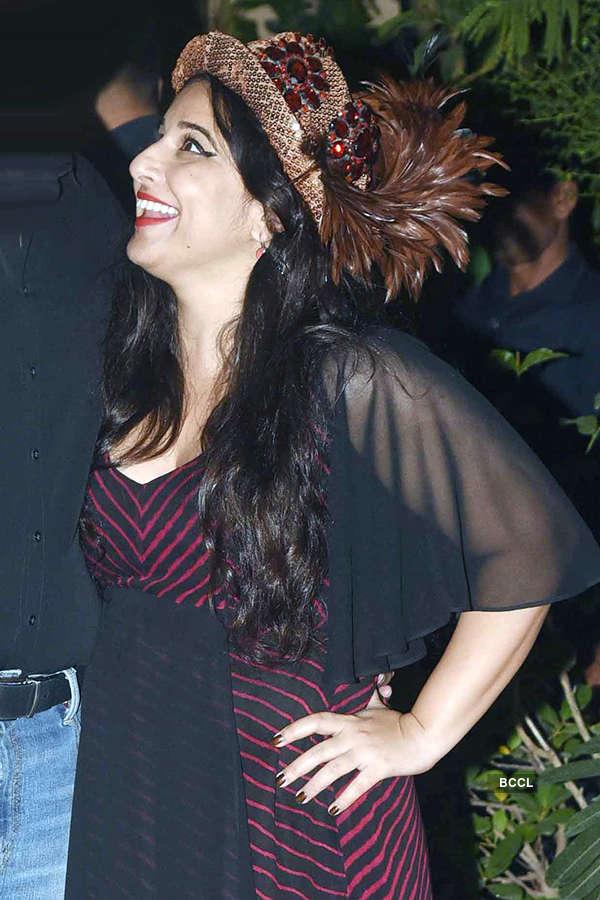 Vidya Balan celebrates her birthday with family and friends