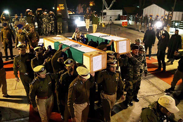 J&K: Four jawans martyred in attack on CRPF camp