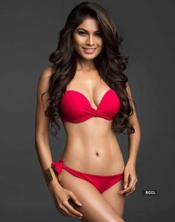 Indian beauty queens who slayed the red bikini look