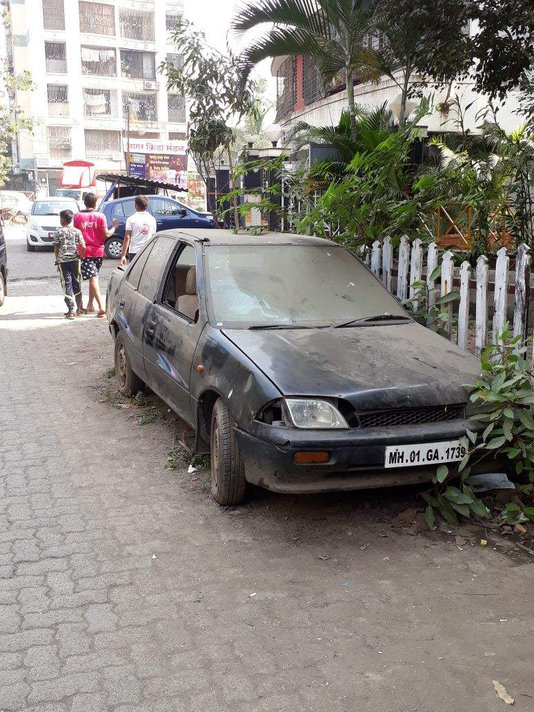 junk vehicles on the road parked since 3 years - Times of India