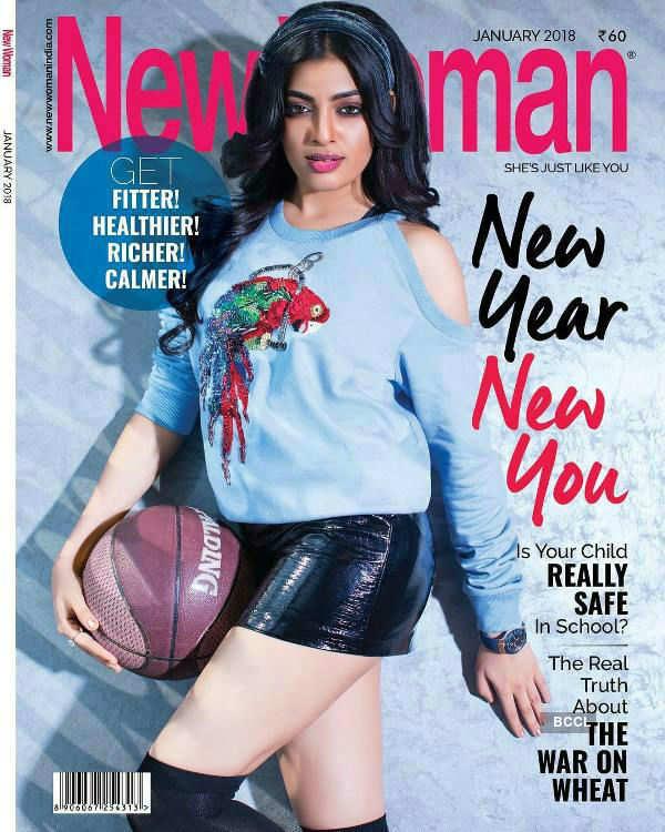 Naveli Deshmukh on the cover of New Woman India Magazine