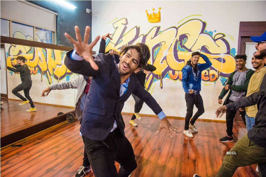 Rare pictures of Pavan Rao from his dance days