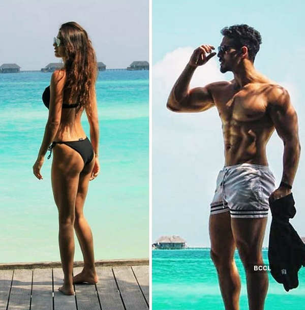 Rumoured lovebirds Disha Patani and Tiger Shroff holiday in Sri Lanka