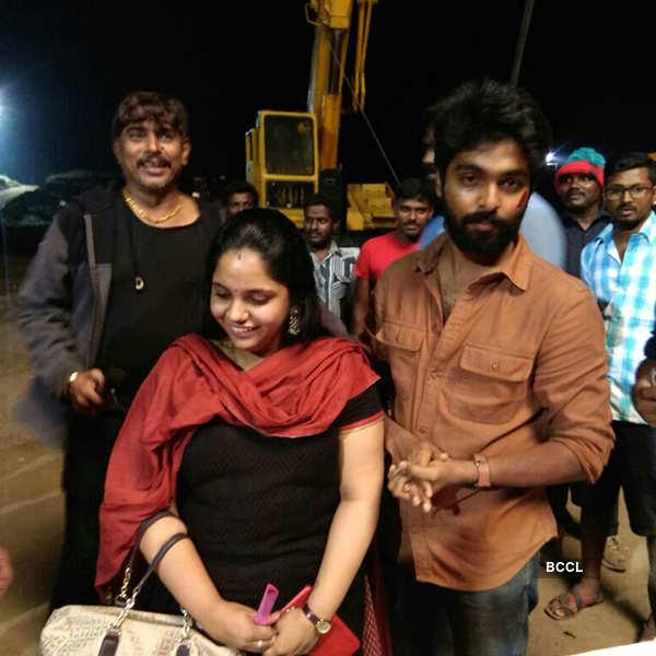 GV Prakash's wife Saindhavi's birthday
