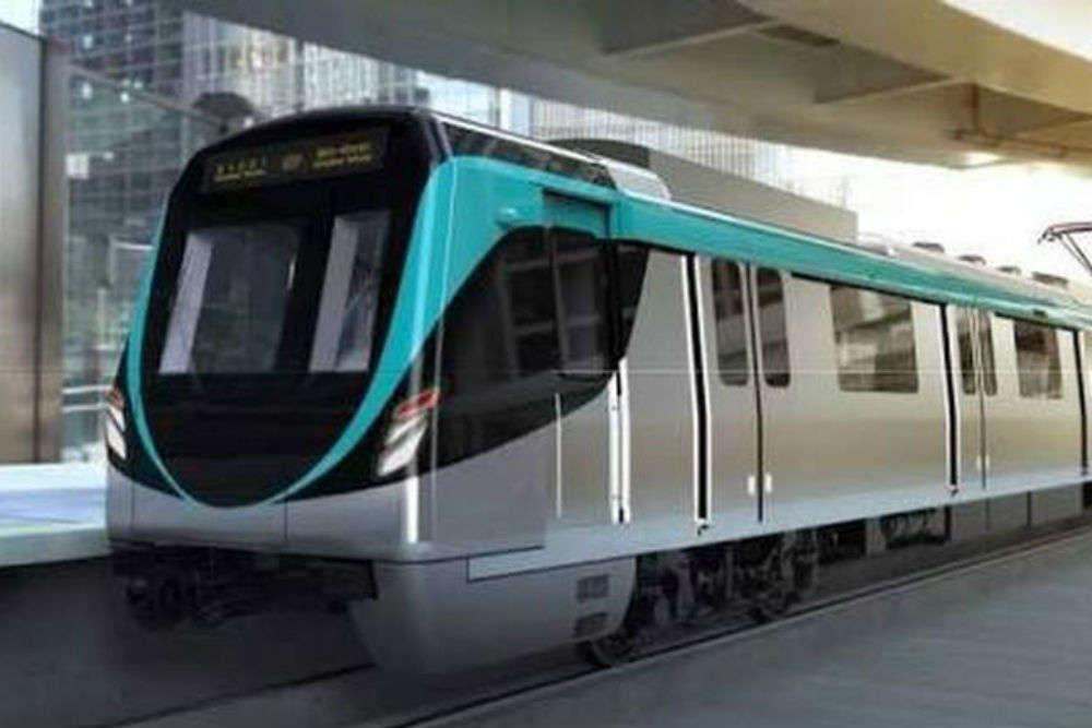 aqua line metro : Delhi Metro performs first test run of Noida
