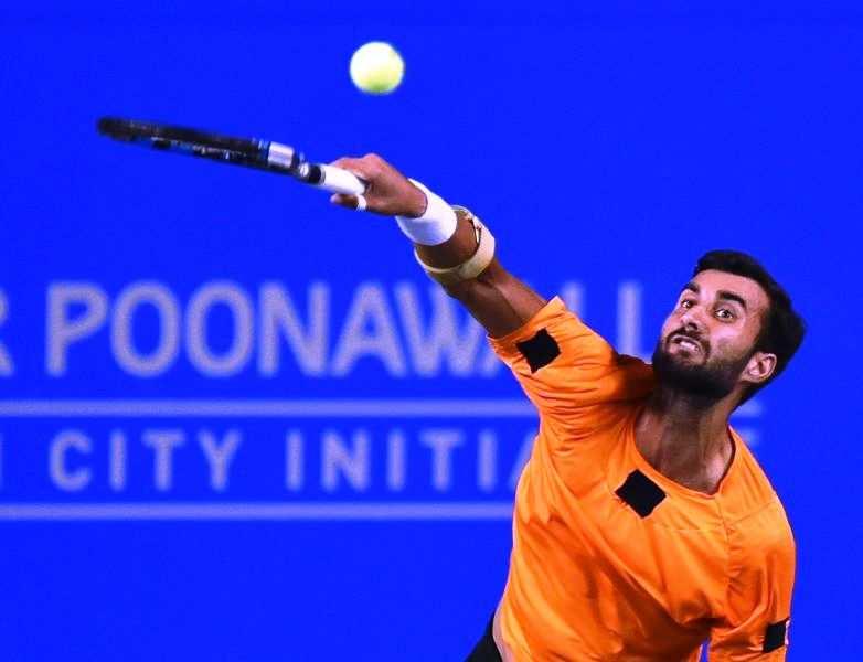Tata Open Tennis: Yuki Bhambri  defeats Arjun Kadhe