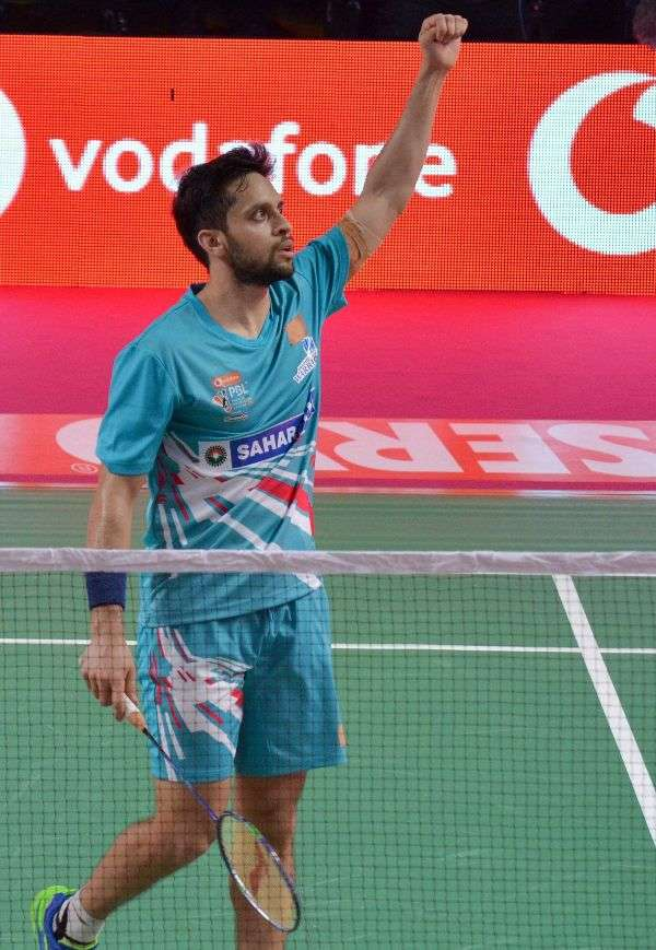 Kashyap guides Warriors to win at PBL