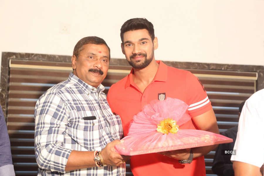 Telugu actor Bellamkonda Sreenivas celebrates his birthday