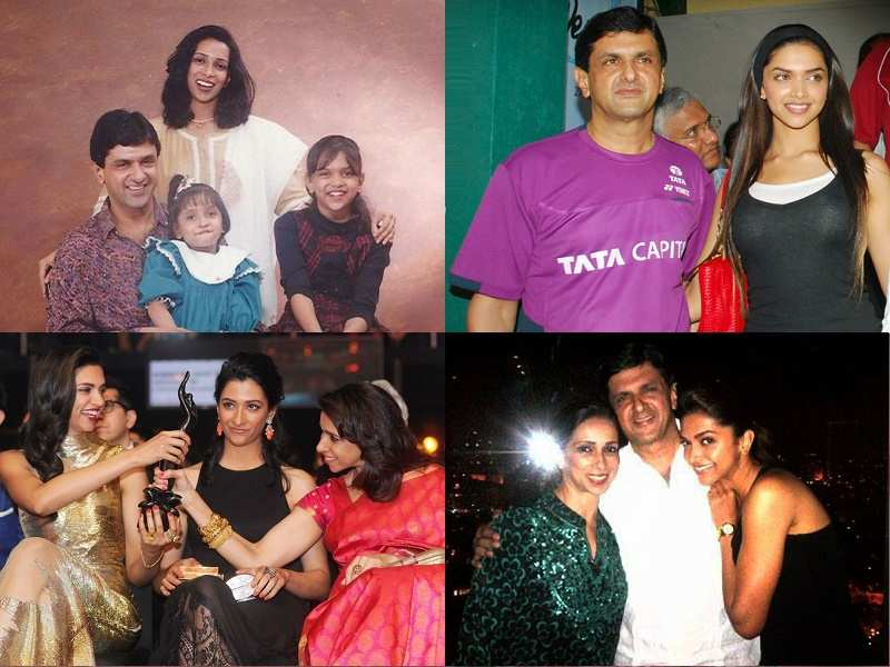 Deepika Padukone's candid pictures with her family
