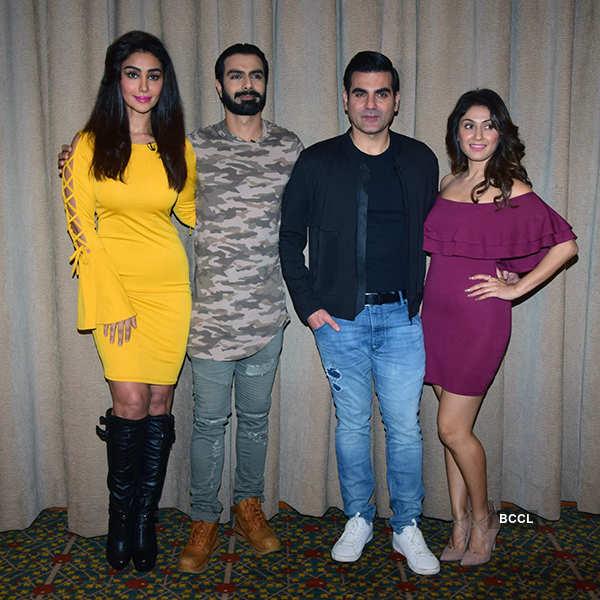 Ashmit Patel, Maheck Chahal, Arbaaz Khan and Manjari Fadnnis