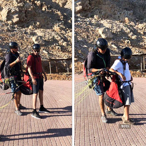 Mahesh Babu spends quality time with son in Oman