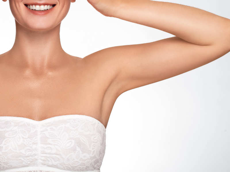 5 tips to get rid of dark underarms | The Times of India