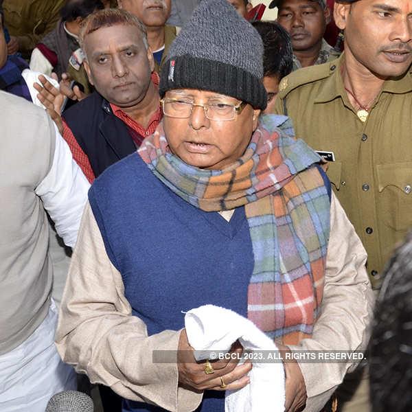 Fodder scam case: Lalu Prasad sentenced to 3.5 years in jail