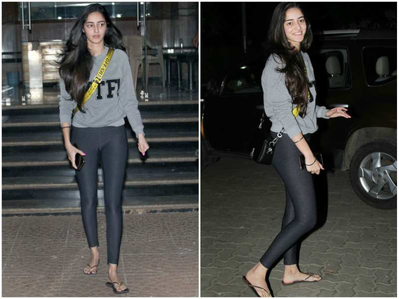 Pictures of Ananya Pandey Without Makeup
