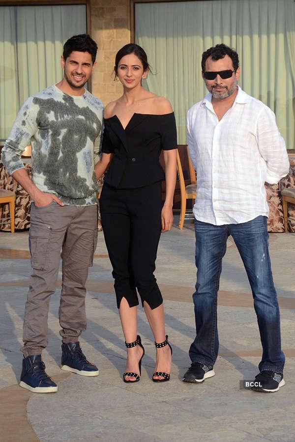 Sidharth Malhotra, Rakul Preet Singh and Neeraj Pandey
