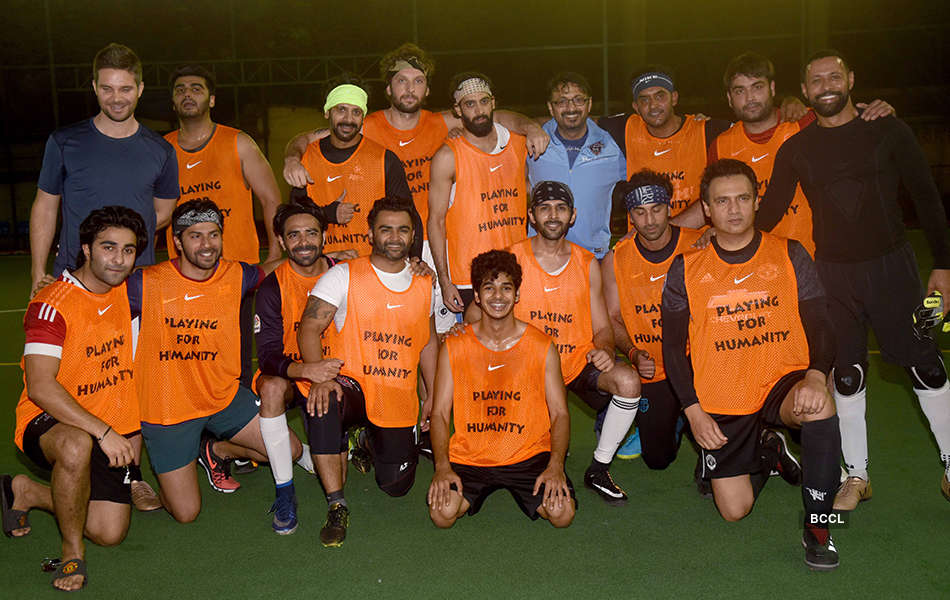 B'wood celebs play football for a cause