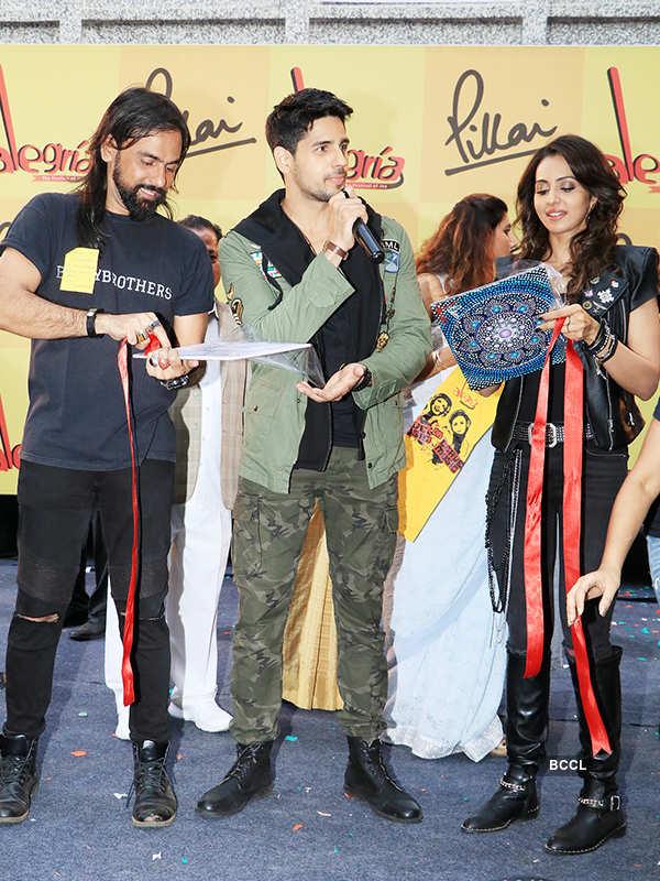 Sidharth Malhotra and Rakul Preet Singh