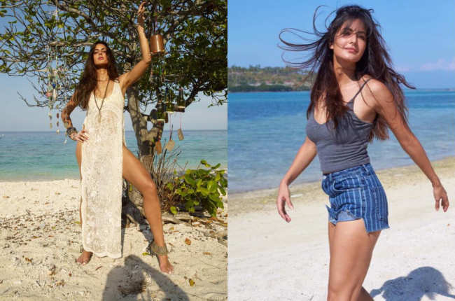 katrina kaif beach photos