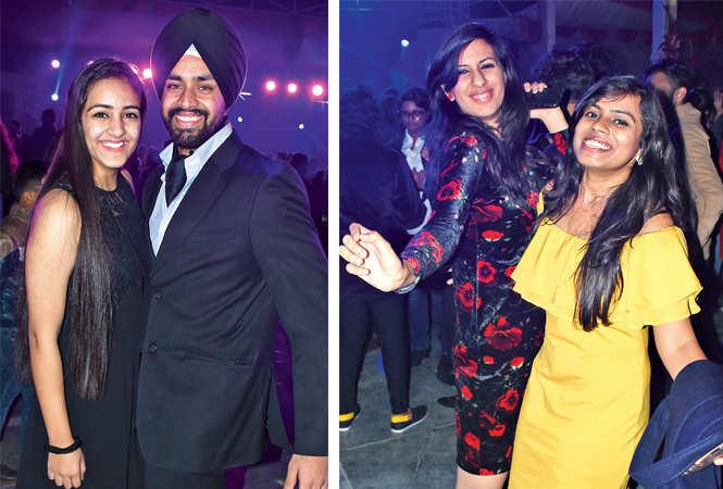 Deepjyot and Jaideep Singh (R) Dr Muskaan Bhatia and Chetna Srivastava (BCCL/ Vishnu Jaiswal)