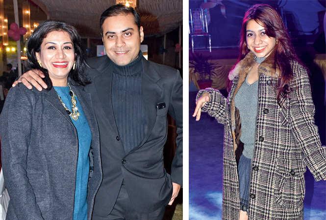Swapnali & Amit Nagarkar  (R) Rhea Kapoor  (BCCL/ Vishnu Jaiswal)