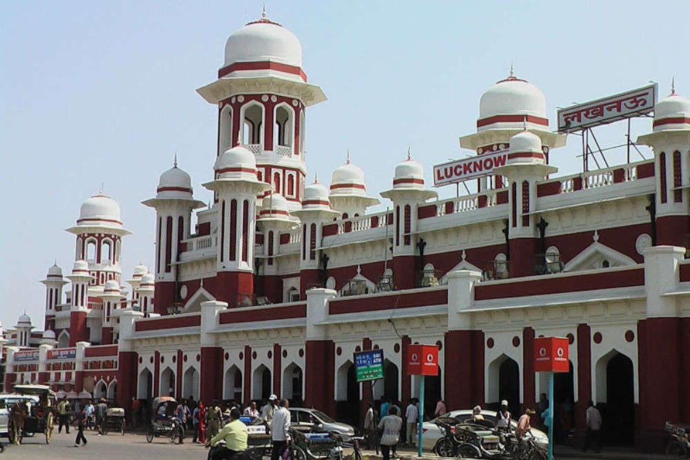 Image result for lucknow railway station
