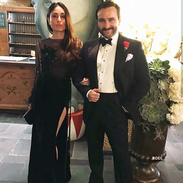 Saif Ali Khan & Kareena Kapoor Khan share a romantic picture, celebrate their 8th wedding anniversary