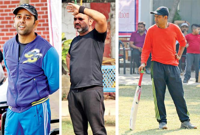 Arpan Wahi, Dishant Badlani and Tanmay Anand  (BCCL/  Unmesh Pandey)