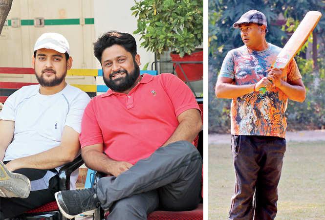 Arun Nigam and Mirza Ali (R) Darpan Baranwal  (BCCL/  Unmesh Pandey)