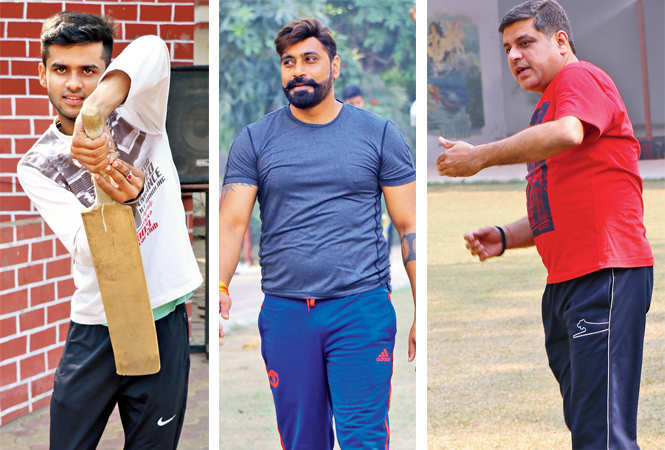 Kanishk Singh, Naveen Singh and Rohit Kapoor  (BCCL/  Unmesh Pandey)