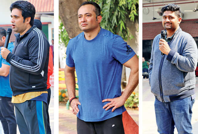 Samir Bhasin, Saurabh Chakravorty and Shreyansh Jain (BCCL/  Unmesh Pandey)