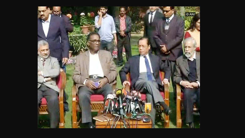 Four sitting SC judges hold press conference, says court's administration not in order